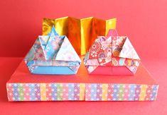 折り紙でお雛様の折り方