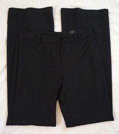 Express Ponte Flare Leg Polyester Womens Black Dress Pants Size 4R NWT (R9#846) #Express #DressPants Black Dress Pants, Bermuda Shorts, Flare, Pants For Women, Legs, Collection, Dresses, Fashion, Black Slacks