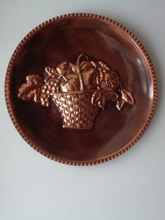 A personal favorite from my Etsy shop https://www.etsy.com/listing/498277832/vintage-large-copper-wall-hanging-basket