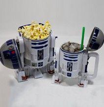 R2-D2 Popcorn Bucket and Stein Mug.  I'm ready for movie night!
