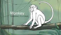 Image result for how to draw a monkey