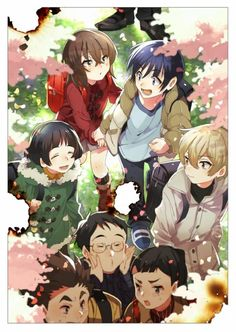 Browse Boku dake ga Inai Machi collected by YujiFuK and make your own Anime album. Mega Anime, All Anime, Me Me Me Anime, Anime Love, Anime Art, Fanart Manga, Natsume Yuujinchou, Fanarts Anime, Another Anime