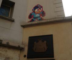 via Space Invader - #MegaMan Pixel Art