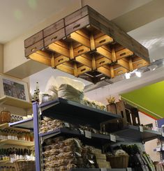 Real Food Store | Farm shop design | Retail lighting | Store design | Shop lighting