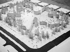 10──安中環境アートフォーラムコンペ案、模型