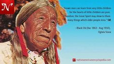 Black Elk -- Oglala Sioux