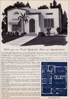 Design No. 430  from Pacific's Book of Homes — Pacific Ready Built Homes