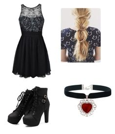 Dunantless Prom by madi-lydon on Polyvore featuring Ally Fashion