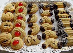 Oggi vi cucino così!: Pasticcini di frolla Biscotti come da Pasticceria