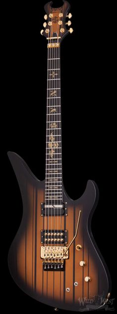 Schecter Synyster Gates Custom Satin Gold Burst