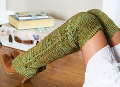 All the leg warmers.  Nozky legwarmers : First Fall 2013