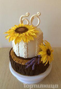 Sunflower cake - Cake by Tortilnica