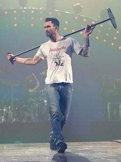 Adam Levine: I'm going home and taking my mic with me so If I don't play, no one plays!