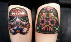 storm trooper darth vader sugar skulls