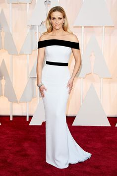 Reese Witherspoon en Tom Ford - Premios Oscar 2015 - www.so-sophisticated.com