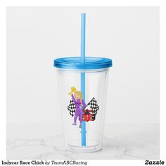 Indycar Race Chick Acrylic Tumbler Acrylic Tumblers, Star Wars Gifts, Indy Cars, Succulents Diy, Finding Joy, Christmas Card Holders, Photo Quality, Hand Sanitizer, Hand Washing