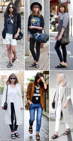 How to Wear Black Birkenstocks