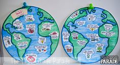 Earth Day Anchor Charts perfect for visual learners in Kindergarten, First Grade, & Second Grade! Compare & Contrast what helps and hurts the Earth. Kindergarten Anchor Charts, In Kindergarten, First Grade Parade, Earth Day Activities, Geography Activities, Project Based Learning, Telling Time, School Holidays, Earth Science