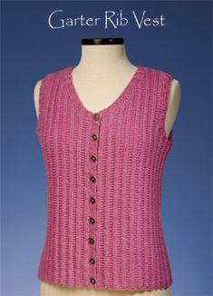Easy Beginner Garter Stitch Scarf Knitting Pattern