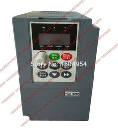 98.80$  Watch here - http://alim7k.worldwells.pw/go.php?t=32541215627 - Variable Frequency Drive/Adjustable frequency inveter  0.75KW 2.3A 380V