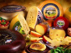 Quesos deliciosos - Los quesos están servidos para ser degustados.