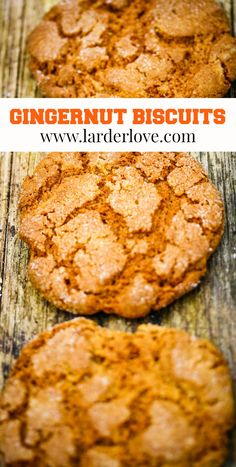 These gingernut (aka gngersnap cookies) are a classic and super tasty and easy to make. #teatime #biscuits #cakesandbakes #cookies #cookiesandbiscuits #gingersnaps #larderlove Ginger Snap Cookies, Golden Syrup, Larder, Ginger Snaps, Tray Bakes, Baking Recipes, Tea Time, Super Easy, Banana Bread