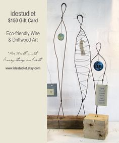 Dollaro 150 Gift Card - buono regalo - sculture di filo e Driftwood arte da…