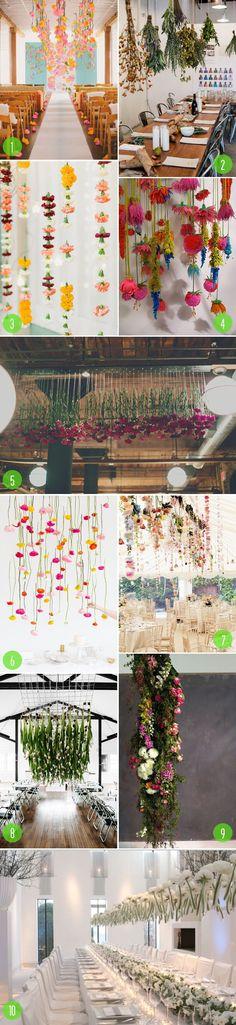top 10: hanging florals
