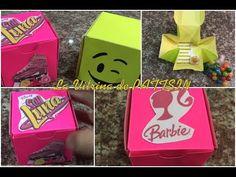 tarjeta de invitacion facil o caja de regalo, emoji, soy luna, barbie - YouTube