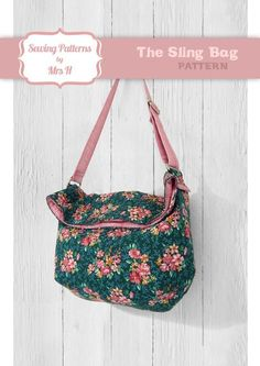 (9) Name: 'Sewing : The Sling Bag FREE pattern