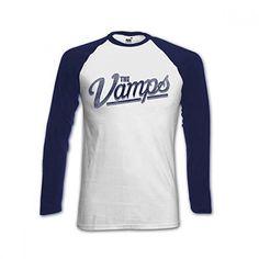 The Vamps Official Team Vamps Simpson Baseball Shirt (Jersey)
