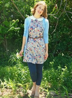 Check out a new outfit post on my blog, Country Girl, City Fashion! #pastels #springwear #modcloth #blue #pink