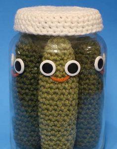 crochet! pickles...
