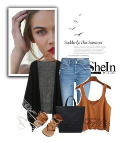 """""""SheIn 10/I"""" by amina-haskic ❤ liked on Polyvore featuring Breckelle's and Sheinside"""