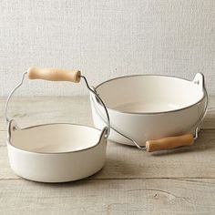 Ore Originals Urban Country Pet Bowls #westelm- i think these are really cute!