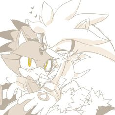 """394- """"I'm sorry Silver. It's just, you're probably the most adorable little thing I've ever seen!"""" She hugged him then unlocked his chains. When Silver stood he was half the size of Tabby. He matched up with Tails. """"Blaze, why do you have my boots?"""" """"I found them. Come on!"""" They ran out of the room and down the hall. """"Wait up!"""" Silver called, """"Little legs here! No good for speed!"""" """"Oh!"""" Blaze stopped and got an idea. She picked up Silver then shoved him in Tabby's arms. """"Carry him!"""" """"What?"""""""