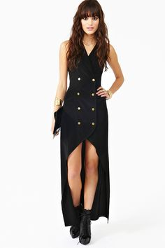 La Femme Tux Dress *never been a dress kinda girl but this is just GORGEOUS #nastygal #dress #fashion