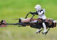 """Este quadricóptero é uma speeder bike de """"Star Wars"""""""
