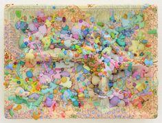 Sa-Mi, 2016 by Makoto Aida Makoto Aida, Superflat, Art Themes, Sprinkles, Lunch Box, Artsy, Drawings, Artwork, Pattern