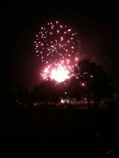 Fireworks over the Mississippi Delta - Greenwood, Ms