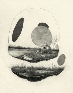 Pat Perry 2014, graphite on paper