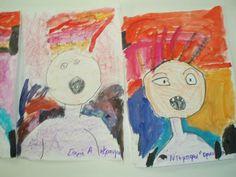 Kindergarten Art Class: E.Munch