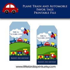Tag favore aerei treni e automobili. Tema di di littlebirdieprints