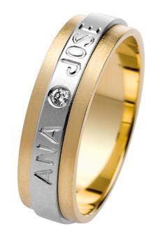 59073b5f63032 alianza de boda en oro bicolor con grabado personalizado