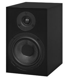 Pro-Ject Audio - Speaker Box 5 - 2-way Monitor Speaker - Black (Pair) by Pro-Ject. $299.00. 2-way monitor speaker, Audiophile 2-way monitor speaker using bass reflex system, tight and clear bass, reflex port on back side, outstanding value for money, ideal for use with other Box Design components, high-gloss piano lacquer.  ? Bass-reflex principle  ? 25mm silk-dome tweeter  ? 130mm bass-mid driver  ? 55Hz-20kHz frequency response  ? 8 ohm impedance  ? 86dB eff...