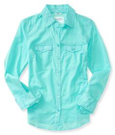Sheer Long Sleeve Woven Shirt