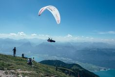 """""""The flight was crazy, so sweet. I managed to come from behind the ridge and win, it was so cool!"""" -Paul Guschlbauer on winning the Red Bull X-Alps  Prologue."""
