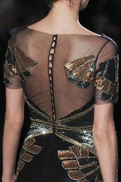 Badgley Mischka Fall 2013 - Details