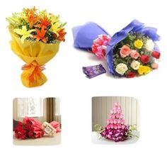 """Flowers Delivery in Mumbai"" by giftcarryflora124 on Polyvore"