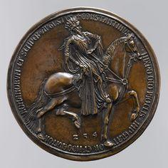 Bronze Medal of Constantine, French,  1402 - 1413